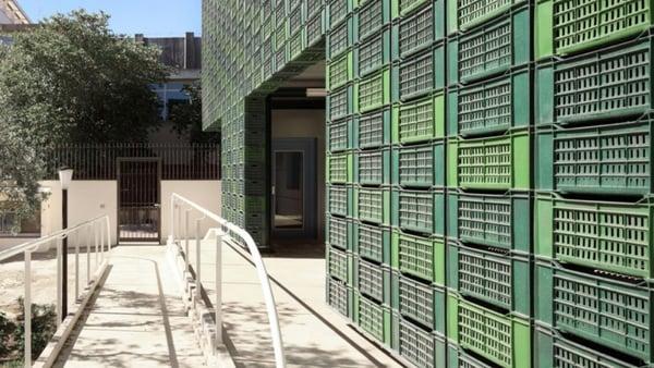 Image of Protiro Orange Crate Facade