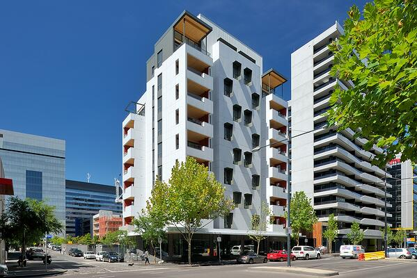 image of building with Cross Laminated Timber