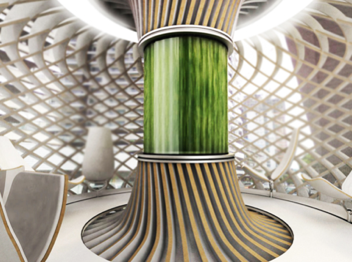 ALGAE-POWERED BUILDINGS