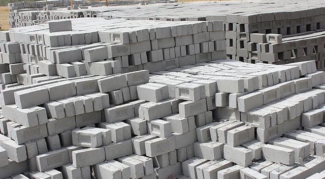 Image of low-carbon bricks
