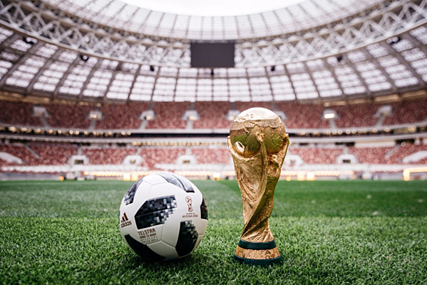 Figure 1 shows FIFA World Cup trophy and official football (1)