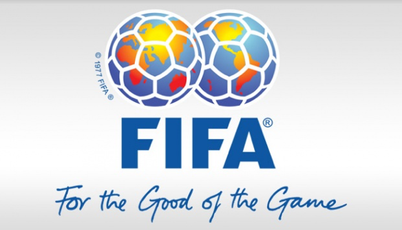 Figure 2 shows FIFA logo and slogan (7)