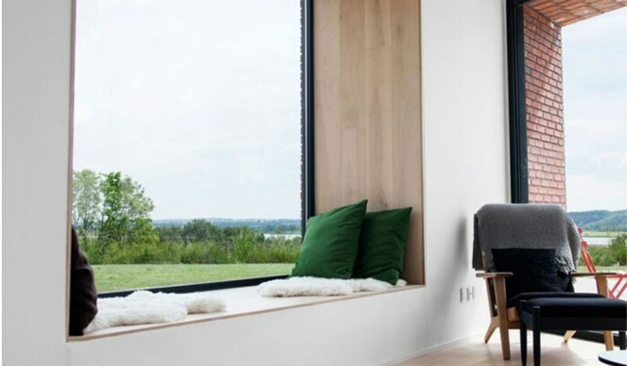 This is an image of double-glazed windows