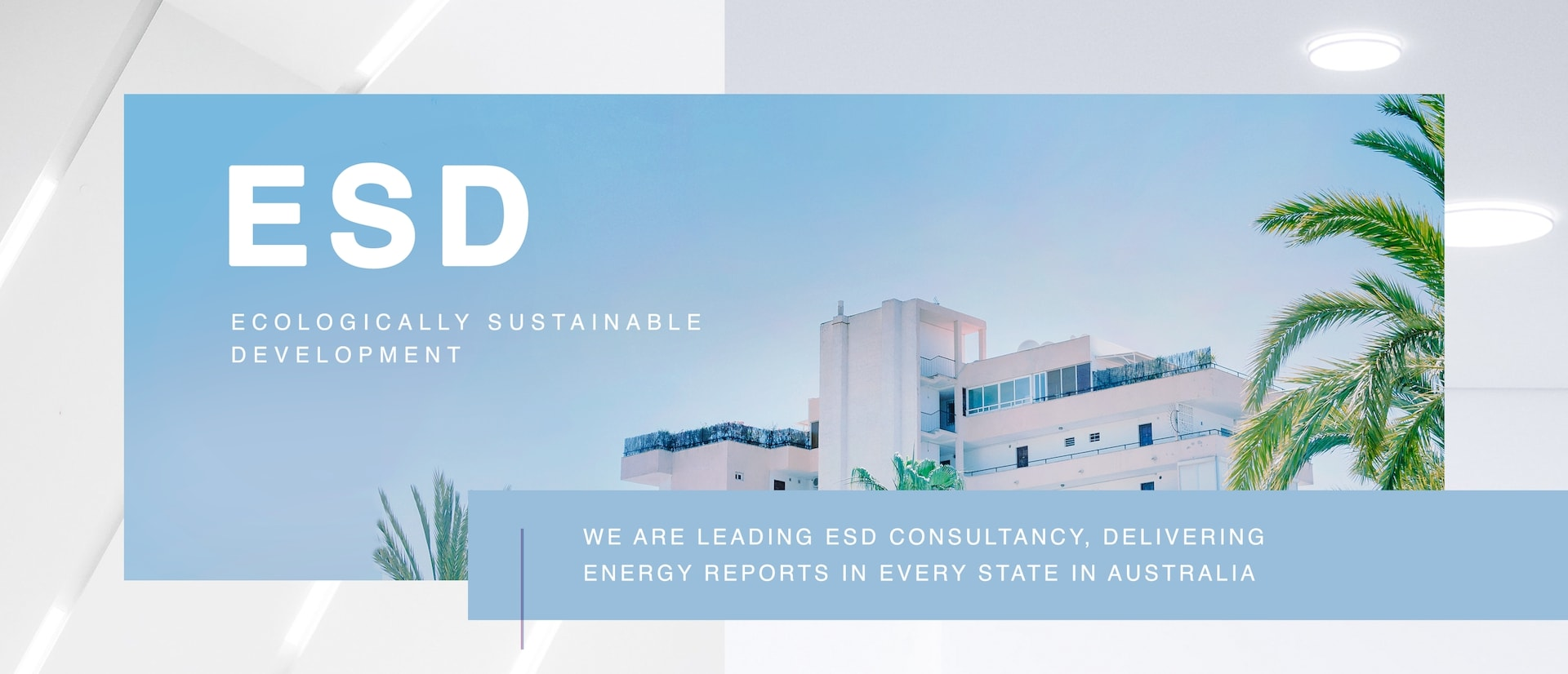Ecologically Sustainable Development Consultancy